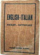 J 9997 POCKET DIZIONARIO INGLESE-ITALIANO