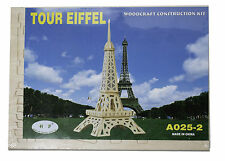 3D Wood Construction Puzzle Small - Eiffel Tower