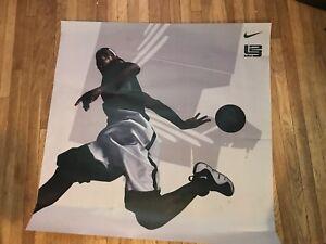 Vintage Rare Nike Lebron James Vinyl Lakers Promo Light Box Poster Exclusive 1/1