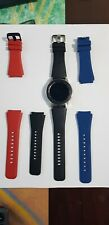 Samsung Galaxy Watch 46mm - Like new plus additional silicone bands