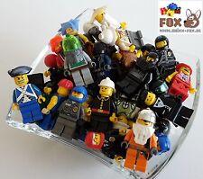 [BF5001] 10 Lego Figuren, Männchen mit Kopfbedeckung, Konvult, kg, Sammlung