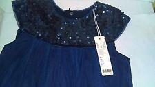 Esprit 114EE5E002 Sequin Navy Blue Dress XS