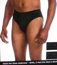 2(X)IST ESSENTIAL No Show Brief - 3 Pack - Extra Large