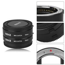 Meike Automatic Auto Focus Macro Extension Tube Ring Set for Sony E Mount Camera