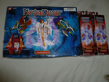 NEW NAVIA DRATP COLLECTIBLE MINIATURES GAME STARTER SET 2 W BOOSTER PACKS LOT
