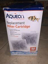 Aqueon Replacement Cartridges 12 Pack Medium for filters QuietFlow Led 10, E20.