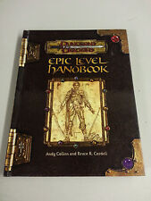D&D Epic Level Handbook HC ~ Dungeons and Dragons 3.0/3.5