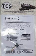 "DCC Decoder Train Control Systems TCS MC-1"" Harness 7-pin JST to 8-pin NMRA plug"
