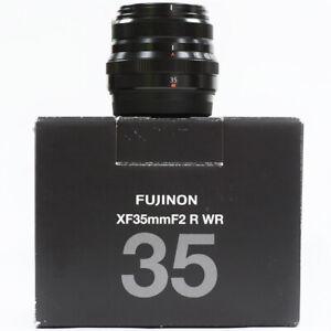 Fujifilm 35mm F2 R WR XF Prime Lens Boxed - ST 37218