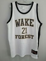 VTG Authentic adidas Wake Forest Tim Duncan 21Throwback Jersey Mens 52 XL Spurs