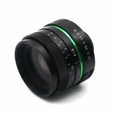 APS-C 25mm f/1.8 C mount MC CCTV Lens for mirrorless camera NEX OM-D GH4 FX P/Q