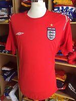Trikot England 2004/06 (XL) Auswärts Away Shirt Jersey Umbro Maglia Camiseta