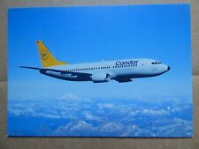 CONDOR   B 737-300    / CARTE COMPAGNIE / AIRLINE ISSUE