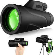 Monocular Telescope,12x42 High Definition Monocular and Smartphone Holder&Tripod