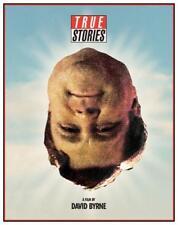 Talking Heads  - POSTER  - TRUE STORIES  - John Goodman David Byrne