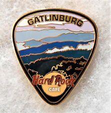 HARD ROCK CAFE GATLINBURG GUITAR PICK SERIES SMOKEY MOUNTAINS PIN # 19937