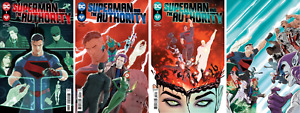 (2021) SUPERMAN AND THE AUTHORITY #1 2 3 4 COMPLETE VARIANT COVER A SET! 1-4!
