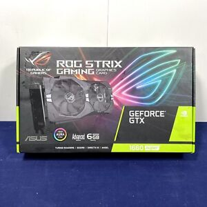 ASUS ROG STRIX GeForce GTX 1660 Super 6GB GDDR6 Graphics Card
