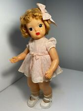Vintage Terri Lee Doll 1950's Hard Plastic Tagged Pretty In Pink