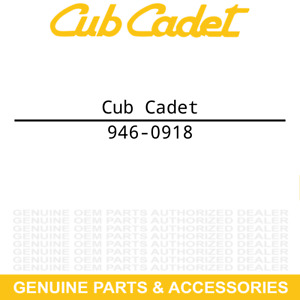 CUB CADET 946-0918 Cable 50 RT FT55 FT50 FT24R FT24 FT ES 65 340 24 R 746-0918