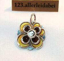 David Andersen Emaille Anhänger 925 Silber Email old enamel Pendant / AT 096