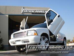 GMC Sonoma 94-04 Lambo Style Vertical Doors VDI Bolt On Hinge Kit