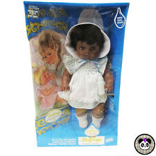 Vtg Eegee Softina Cry Real Tears AA Black Doll EG Soft 60s 70s NIB New Box