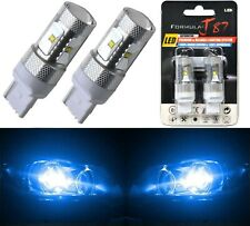 LED Light 30W 7440 Blue 10000K Two Bulbs Rear Turn Signal Replace Upgrade