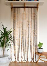 Vintage Retro 1970s Bead / Beaded Door Curtain Bohemian Style