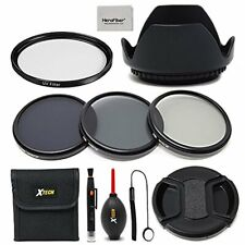 Xtech 52mm Accessories Kit f/ Nikon AF-S DX Nikkor 18-55mm f/3.5-5.6G VR II