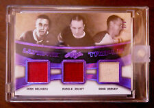 2016/17 BELIVEAU, JOLIAT, HARVEY LEAF ULTIMATE TRIPLE MEMORABILIA 5/5 EBAY 1/1!