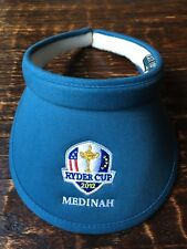2012 Ryder Cup Medinah Women's Golf Visor Blue