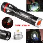 3000LM CREE XML T6 3 Modes LED Flashlight Torch Lamp Light 18650 Waterproof