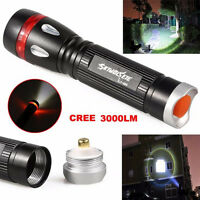 3000LM XML T6 3 Modes LED Flashlight Torch Lamp Light 18650 Waterproof