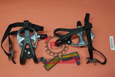 F3-101476 Coppia pedali Bicicletta da Corsa con puntapiede VP-398 Alluminio