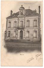 CPA 77 - CROUY SUR OURCQ (Seine et Marne) - Mairie - Dos simple