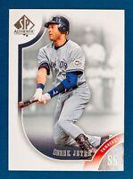 Derek Jeter #2 (2009 Upper Deck SP Authentic) Baseball Card, NY Yankees, HOF