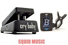 Dunlop Clyde McCoy Cry Baby Wah Wah Pedal CM95 ( FREE CLIP ON GUITAR TUNER )