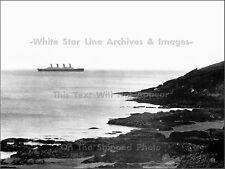 Photo: Distant Titanic Off Ireland - Heading To Southanpton, April 2, 1912