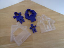 New Tupperware Nesting Cookie Cutters Set