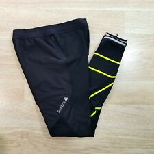 NWOT Reebok Crossfit Womens M Compression Training Workout Tights Leggings Black