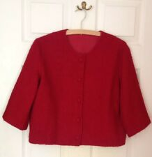 True Vintage 50's / 60's Ladies Jacket, hand made, three quarter length sleeves.