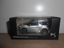 31.10.16.1 Citroën DS3 DS 3 cabriolet cabrio gris métalisé Norev 3 inch
