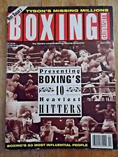BOXING ILLUSTRATED MAGAZINE ~APRIL 1993~ BOXINGS 10 HEAVIEST HITTERS!!