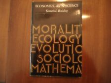 Economics As A Science by Kenneth Boulding