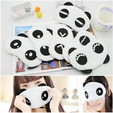 Panda Eye Mask Shade Cute Travel Easy Blindfold Cover Sleeping Eyeshade Eyepatch