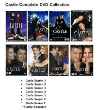 CASTLE COMPLETE Season 1 2 3 4 5 6 7 8 DVD Series Set New Sealed UK Release R2