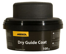 Mirka Kontrollpulver 100 g schwarz mit Handblock Feststellung von Fehlstellen