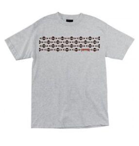 Independent Skateboard Trucks Thrasher Mag Pentagram T Shirt Men's Med Heather