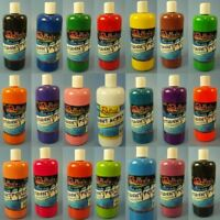 NEW 500ml Student Acrylic Washable Poster Paint School Project Art Craft OZ Made